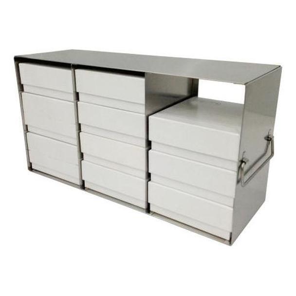 Upright Freezer Racks for Regular 2″, 3″&3.75″ Standard Boxes